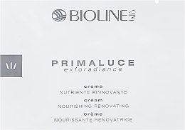 Духи, Парфюмерия, косметика Восстанавливающий и питательный крем - Bioline Jato Primaluce Exforsdiance Cream Nourishing Renovating (пробник)