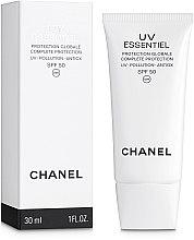 Духи, Парфюмерия, косметика Солнцезащитное средство для лица - Chanel UV Essentiel Complete Protection Pollution Antiox SPF 50