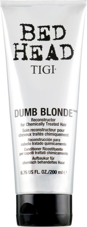 Кондиционер для обесцвеченных и поврежденных волос - Tigi Bed Head Dumb Blonde Conditioner