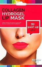 Духи, Парфюмерия, косметика Коллагеновая гидрогелевая маска для губ - Beauty Face 3D Push-Up Collagen Hydrogel Lip Mask
