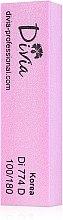Духи, Парфюмерия, косметика Баф-брусок четырехсторонний 100/180, розовый - Divia