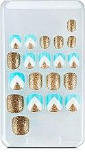"Набор накладных ногтей ""Желейная конфетка"" на клеевой основе - Kiss Broadway Little Diva — фото N4"