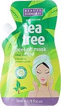 Духи, Парфюмерия, косметика Маска-пленка для лица - Beauty Formulas Tea Tree Peel-Off Mask