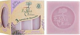 Духи, Парфюмерия, косметика Марсельское мыло Лаванда - Le Petit Olivier Vegetal Oils Soap