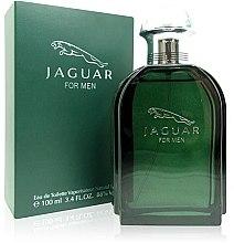 Духи, Парфюмерия, косметика Jaguar Green - Туалетная вода (тестер с крышечкой)