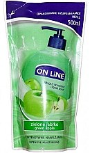 Духи, Парфюмерия, косметика Жидкое мыло - On Line Green Apple Liquid Soap (сменный блок)