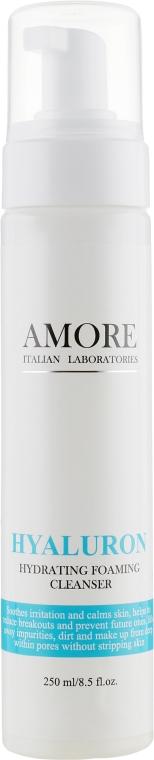 Концентрированная увлажняющая пенка для умывания с гиалуроновой кислотой - Amore Hyaluron Hydrating Foaming Cleanser