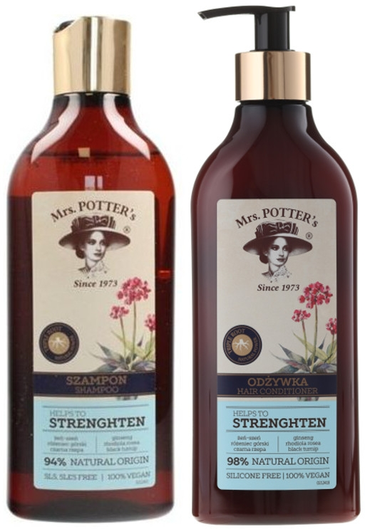 Набор - Mrs. Potter's Triple Root (shm/390ml + cond/390ml)