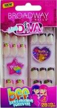 Набір накладних нігтів - Kiss Broadway Nails Little Diva — фото N2