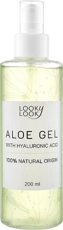 Алоэ-гель с гиалуроновой кислотой для лица и тела - Looky Look