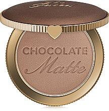 Духи, Парфюмерия, косметика Бронзер - Too Faced Chocolate Soleil Long-Wear Matte Bronzer