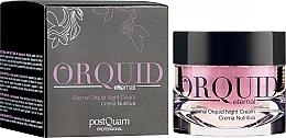 Духи, Парфюмерия, косметика Увлажняющий ночной крем для лица - PostQuam Orquid Eternal Moisturizing Night Cream