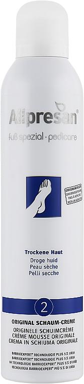 Крем-пена для сухой и грубой кожи стоп - Allpresan Foot Special Schaum-Creme