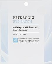 Парфумерія, косметика Гідрогелеві патчі з пептидами для зони навколо очей - Dr.Hedison Premium Skin Care Returning Eye Patch