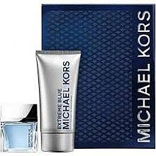 Духи, Парфюмерия, косметика Michael Kors Extreme Blue - Набор (edt/70 ml + sh/gel/150/ml)