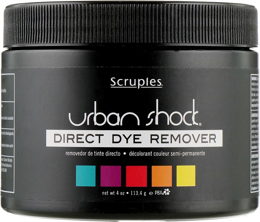 Ремувер для снятия краски с волос - Scruples Urban Shock Direct Dye Remover