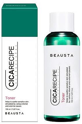 Тонер для лица с центеллой - Beausta Cicarecipe Toner