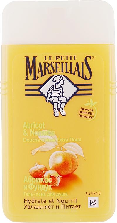 Гель-пена для душа «Абрикос и Фундук» - Le Petit Marseillais