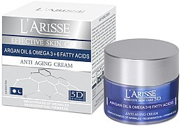 Духи, Парфюмерия, косметика Крем против морщин 65+ - Ava Laboratorium L'Arisse 5D Anti-Wrinkle Cream Agran Oil & Omega 3+6