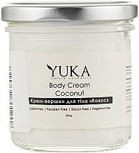 "Духи, Парфюмерия, косметика Крем-сливки для тела ""Кокос"" - Yuka Body Cream"
