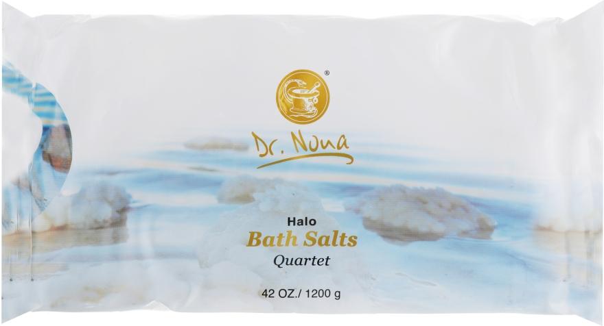 Набор солей Мертвого моря для ванн - Dr. Nona Dead Sea A Quartet Of Bath Salts (bath/salts/4x300g)