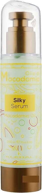 Флюид-шелк с маслом макадамии - Kleral System Olio Di Macadamia Silky Serum