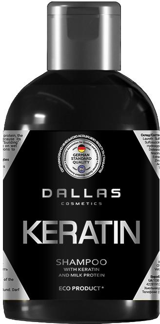 Шампунь с кератином и молочным протеином - Dallas Cosmetics Keratin Shampoo