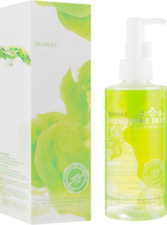 Гидрофильное масло для лица - Deoproce Fresh Pore Deep Cleansing Oil