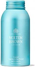 Духи, Парфюмерия, косметика Molton Brown Coastal Cypress & Sea Fennel Bath Salts - Соль для ванны