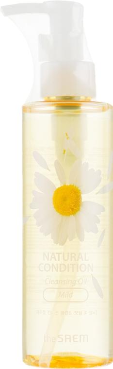 Успокаивающее гидрофильное масло - The Saem Natural Condition Cleansing Oil Mild
