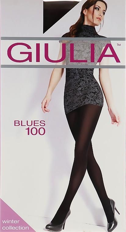 "Колготки ""Blues 3D"" 100 Den, marsala - Giulia"