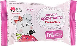 """Духи, Парфюмерия, косметика Детское крем-мыло """"Мышка Варя"""" - Pink Elephant"""
