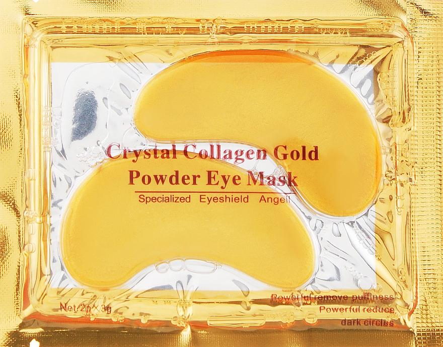 Патчи под глаза от морщин с коллагеном и биозолотом - Hebei Crystal Collagen Gold Power Eye Mask