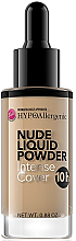 Духи, Парфюмерия, косметика Жидкая пудра - Bell Nude HypoAllergenic Powder
