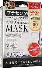 Духи, Парфюмерия, косметика Маска для лица с плацентой - Japan Gals Pure 5 Essence PL