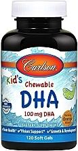 Духи, Парфюмерия, косметика Жевательная ДГК для детей, с насыщенным вкусом апельсина - Carlson Labs Kid's Chewable DHA