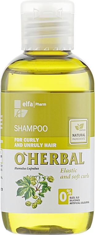 """Шампунь для вьющихся и непослушных волос """"Мягкость по всей длине"""" - O'Herbal"""