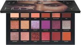 Духи, Парфюмерия, косметика Палетка теней для век - Huda Beauty Desert Dusk Eyeshadow Palette