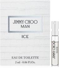 Духи, Парфюмерия, косметика Jimmy Choo Man Ice - Туалетная вода (пробник)