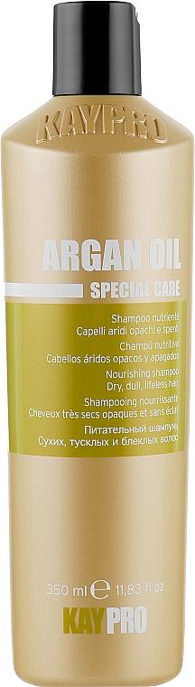 Питательный шампунь с аргановым маслом - KayPro Special Care Nourishing Shampoo