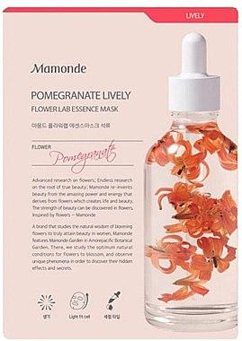 Тканевая маска для лица с экстрактом граната - Mamonde Lower Essential Mask Pomegrante Anti Aging — фото N1
