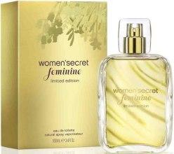 Духи, Парфюмерия, косметика Women Secret Feminine Limited Edition - Туалетная вода (тестер без крышечки)