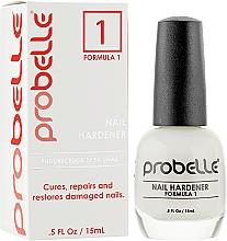Парфумерія, косметика Засіб для лікування і відновлення пошкоджених нігтів - Probelle Touch-Grow Nail Hardener (Formula 1)