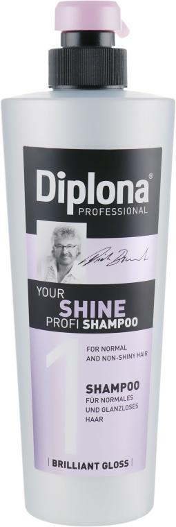 """Шампунь для тусклых волос """"Ваш профессиональный блеск"""" - Diplona Professional Shine Shampoo"""