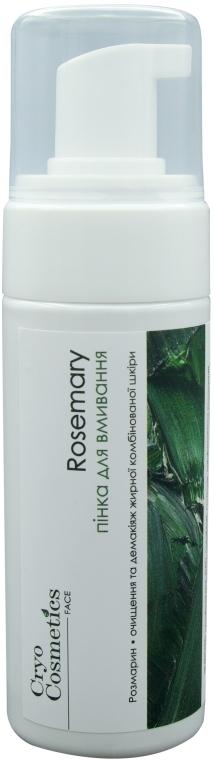 Пенка для умывания с Крио-Био-Активными маслами розмарина и корицы - Cryo Cosmetics