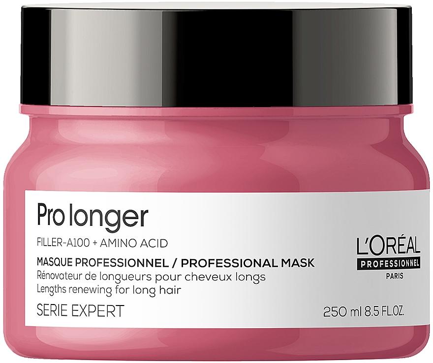 Маска для восстановления плотности поверхности волос по длине - L'Oreal Professionnel Serie Expert Pro Longer Lengths Renewing Masque
