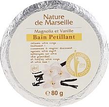 Духи, Парфюмерия, косметика Бомбочка для ванны с ароматом магнолии и ванили - Nature de Marseille Magnolias&Vanilla