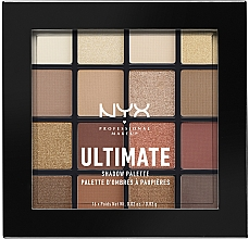 Парфумерія, косметика Палетка тіней - NYX Professional Makeup Ultimate Shadow Palette