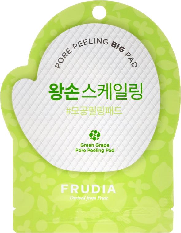 Пилинг-диск для лица с зеленым виноградом - Frudia Pore Peeling Big Pad Green Grape