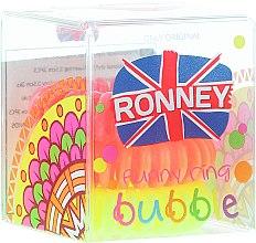 Духи, Парфюмерия, косметика Резинки для волос, 3,5 см - Ronney Professional S26MAT Funny Ring Bubble
